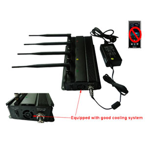 Wholesale Mobile Phone Signal Jammer Able To Be Used In Car + 40 Meter Range
