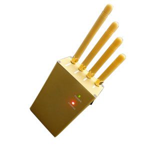 Wholesale Handheld Cellphone GPS Jammer 3Watts output power + four Antennas