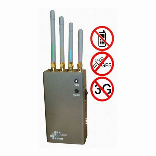Wholesale 5-Band Portable Cell Phone & GPS Jammer